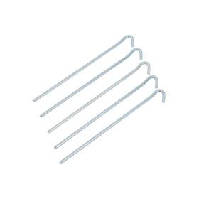 CAMPZ Erdnagel rund - Accesorios para tienda de campaña - 30cm gris